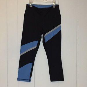792270657063d4 Zella Pants | Gray Epic Dot High Waist Mesh Capri Leggings | Poshmark